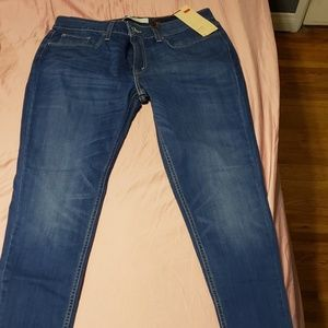 Levi Low rise Super skinny jeans